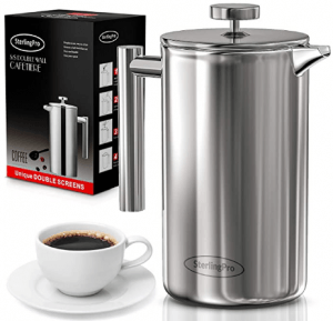 French Press Double-Wall Stainless Steel 2021